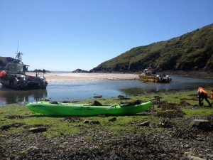 Solva Harbour is the perfect place to launch your kayak