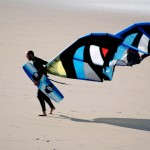 Things to do in Pembrokeshire - Kitesurf Newgale Beach